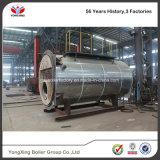 Fábrica que vende diretamente a caldeira de vapor despedida da série de Wns gás Fuel Oil para a indústria têxtil