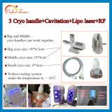 1 다기능 아름다움 장비에 대하여 기계 3 Cryo 손잡이 5를 체중을 줄이는 Cryolipolysis 공동현상
