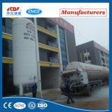 真空の粉の絶縁体の低温液化ガスの貯蔵タンク