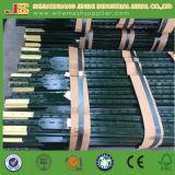 도매 미국 유형 1.33lb/Feet 녹색 그려진 담 포스트에 의하여 장식용 목을 박는 T 포스트