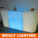LED Furniture PE Plastic LED Bar Counter