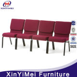 卸し売り教会椅子、教会のための椅子、教会椅子をスタックする鉄教会椅子ロゴ(XYM-026)の講堂の椅子の劇場の椅子