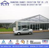 Grande Piscina Parede de vidro rígido permanente tenda de exposições