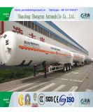 Della Cina del liquido criogenico del CO2 3 degli assi LNG dell'autocisterna rimorchio semi