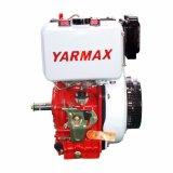 Moteur diesel simple refroidi par air du cylindre 195f de Yarmax
