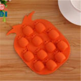Forme de fruits Custom Food Grade Silicone Ice Cube Mold
