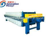 Equipamento de imprensa do filtro separador de líquidos no estado sólido