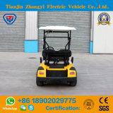 Zhongyiの小型2つのシートは販売の電気ゴルフカートを黄色にする