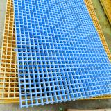 El FRP GRP rejilla moldeada para las plataformas de productos químicos