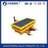 pallet di plastica diResistenza di caduta di contenimento 1300X1300 per industria chimica