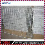 一時囲う鉄の金属の網のプライバシーの庭の安い塀のパネル