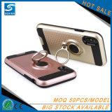 2018 achats en bloc tendants de produits de couverture de téléphone de cas de la Chine avec le support de boucle pour l'iPhone 8