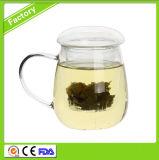 Tasse de thé en verre haute qualité résistant à la chaleur du pot de thé