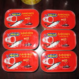 La meilleure qualité de la Sardine en conserve du poisson avec du jus de citron