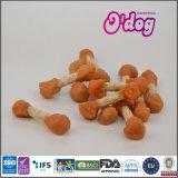 Право свинины ручки Myjian белое Munchy для собачьей еды
