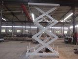 Plate-forme de levage vertical de type ciseaux stationnaire avec la CE