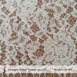 Tissu français de lacet de cordon épais (M2175-MG)