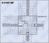 1080tセリウムの公認のプラスチック射出成形機械こんにちはG1080