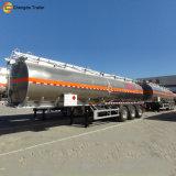 3 Axel-heller Typ Aluminiumtanker-halb Schlussteil