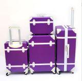 4 der PCS-Set-Himmel weitermachen Laufkatze-Koffer-Arbeitsweg-Gepäck