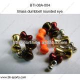 Colori differenti sui branelli d'ottone con l'occhio arrotondato 08A-004