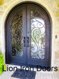 Шикарная декоративная двойная дверь входа утюга Wroguht