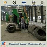 Gomma di gomma ad alto rendimento che ricicla macchina/impianto residuo di riciclaggio della gomma