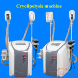 5 в 1 Cryolipolysis похудение машины кавитация RF Cryo Lipolaser две ручки могут работать вместе