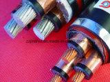 0.6/cables de transmisión del PVC de la SWA de 1kv Cu/XLPE/con estándar del IEC