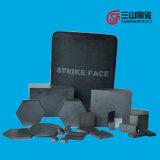 Carburo di silicone sinterizzato di ceramica a prova di proiettile di alta qualità (SiC) di ceramica