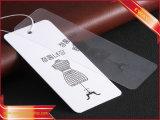 Изготовленный на заказ бумажная бирка Hang Hangtag для одежды