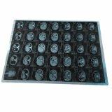 Pellicola blu di Digitahi dei raggi X medici termici diretti di formazione immagine per Agfa Drystar 5301