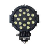 Faro 51W 6inch dell'indicatore luminoso di azionamento dell'indicatore luminoso LED del lavoro del modello a caldo LED LED