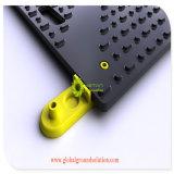 Tapis de la route temporaire/ Poids léger Heavy Duty aucun revêtement de sol portable en HDPE de patinage