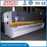 QC11Y-4X4000 de control Nc guillotina hidráulica Cizalla Maquinaria y la placa de acero maquinaria de corte