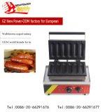 Générateur de cône de gaufre de matériel de restauration/générateur de gaufre hot-dog