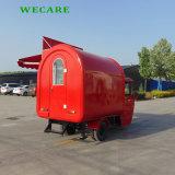 Wecareのステンレス鋼の販売のための移動式食糧トレーラー
