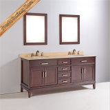 Fed-1833 vaidade modernas quentes do banheiro dos dissipadores dobro das vendas de 72 polegadas