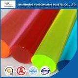 Stok van het Plexiglas van de Staven van de hoogste Kwaliteit de Gekleurde Gegoten Duidelijke Acryl