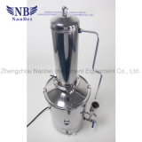 Laboratorio de 10 litros automática Destilador de agua a gas