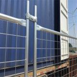 2.4X2.1m電流を通された鋼鉄網の一時塀のパネルの産業塀のパネル