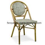 Высокое качество сад используется Textilene ткань для отдыхающих обеденный стул садовой мебелью,