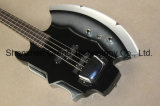 クロムハードウェア(GB-74)が付いている斧の署名4ストリングベースギター
