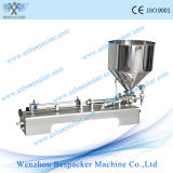 Acero inoxidable Semi-Auto neumática máquina de relleno de crema