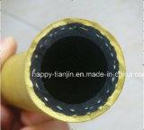 Boyau comprimé de fibre de filé d'air à haute pression de tresse