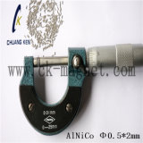 Ck 206 알니코 자석 특성 Φ 0.5*2mm