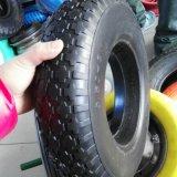 3.50-8 공기 자유로운 PU 거품 외바퀴 손수레 바퀴