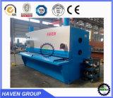 Macchina di taglio della ghigliottina idraulica di CNC QC11K-20X4000, tagliatrice del piatto d'acciaio