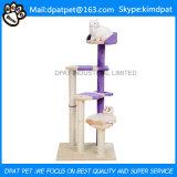 Prodotti di lusso amichevoli dell'animale domestico della base del gatto dell'albero del gatto di Eco grandi