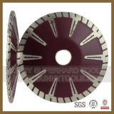 180mm lame diamant Disque de coupe au laser pour la coupe de granit